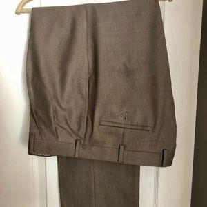 Brown Ralph Lauren Suit Dress Pants